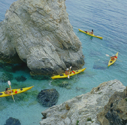 KAYAK ALL'ISOLA D'ELBA | Toscana Turismo & Congressi